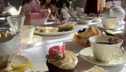 An Elegant Birthday Tea Party Table